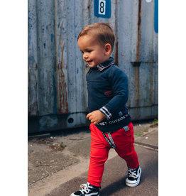Quapi Quapi baby jongens shirt Elio Dark Grey