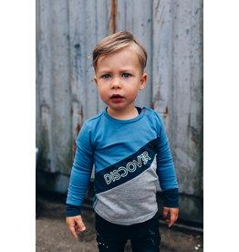Quapi Quapi baby jongens shirt Eloy Indigo Blue