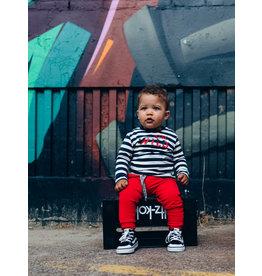 Quapi Quapi baby jongens joggingbroek Eymen True Red