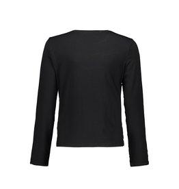 Elle Chic Elle Chic meiden shirt franjes Black