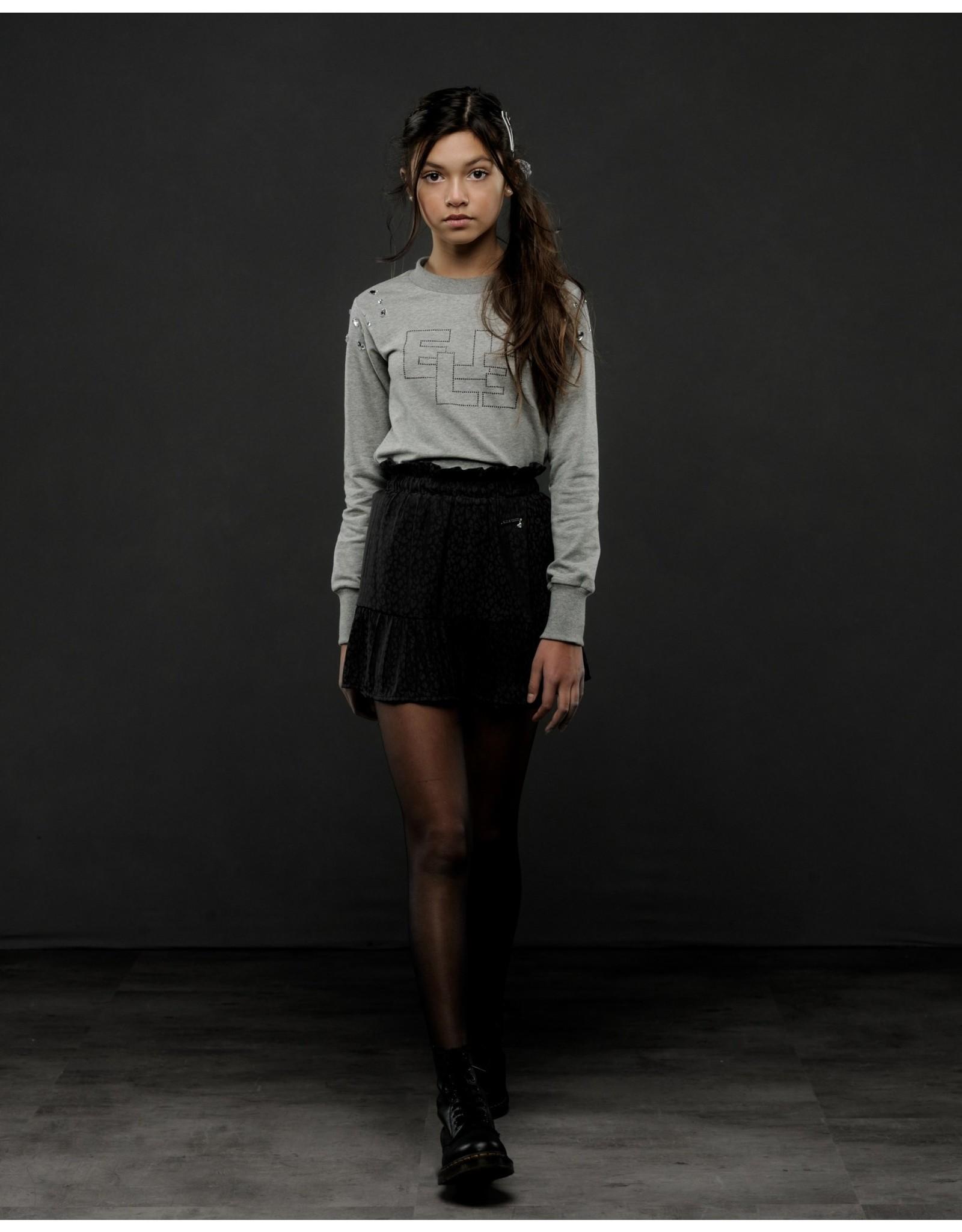 Elle Chic Elle Chic meiden rok luipaard Black