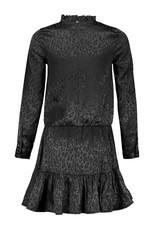 Elle Chic Elle Chic meiden jurk luipaard Black