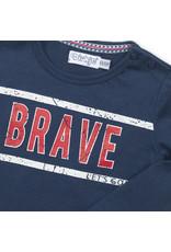 Dirkje Dirkje baby jongens shirt Navy Brave