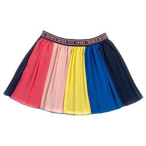 Jubel Jubel meisjes plissé rok regenboog Koraal