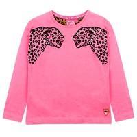 Jubel meisjes shirt tijgerkop Roze