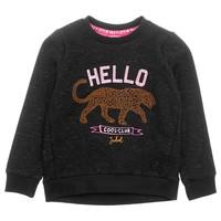 Jubel meisjes sweater hello Zwart