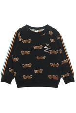 Sturdy Sturdy jongens sweater tijger Zwart