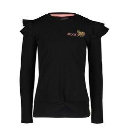 4President 4President meisjes shirt Flair Black