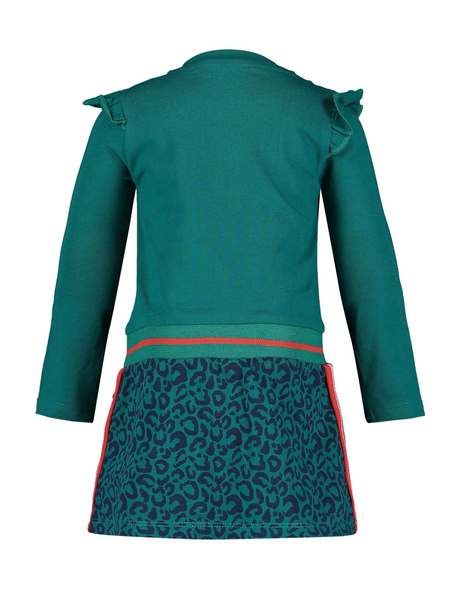4President 4President meisjes jurk Maria Dark Petrol