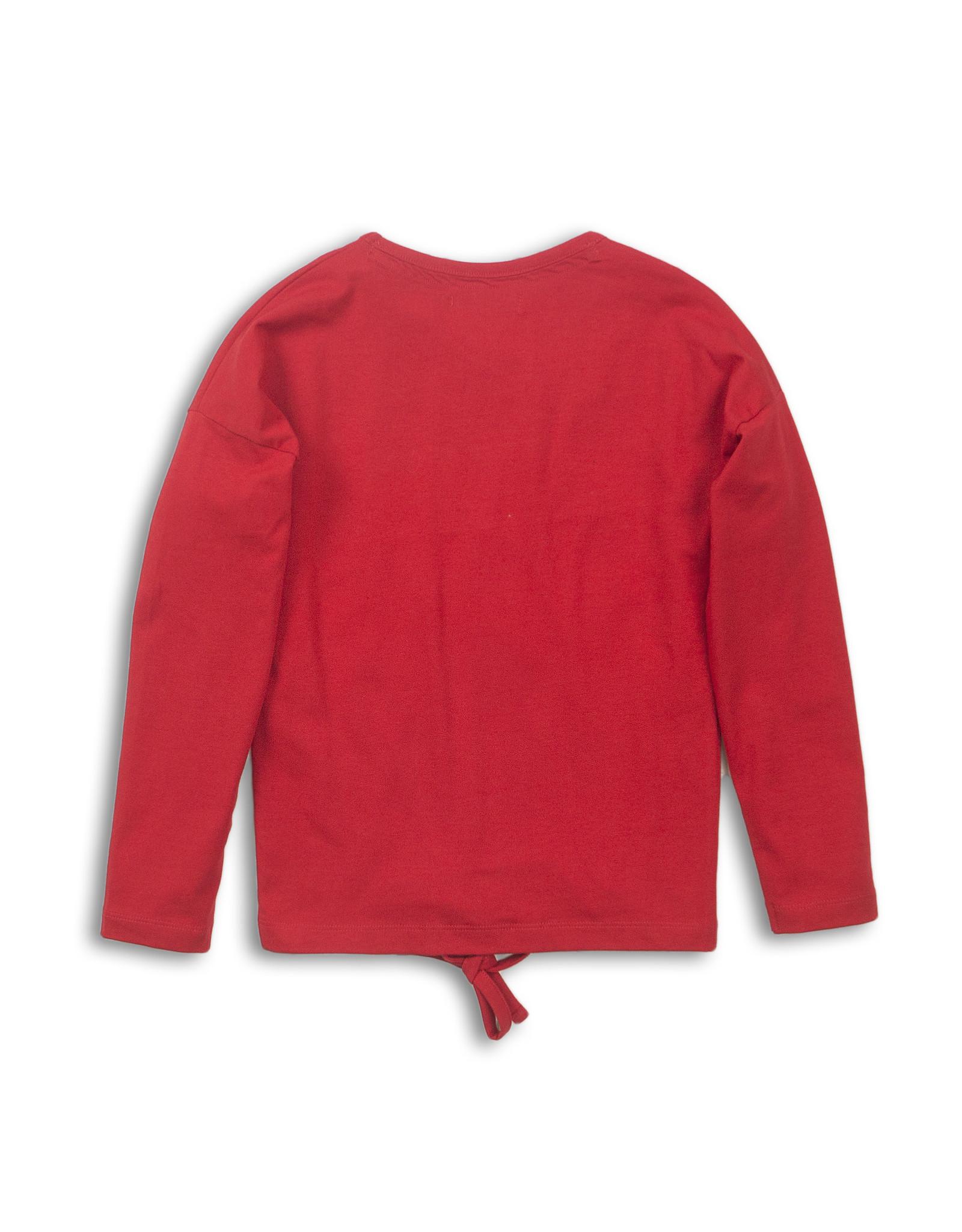 DJ Dutchjeans DJ Dutchjeans meisjes shirt Heart Red