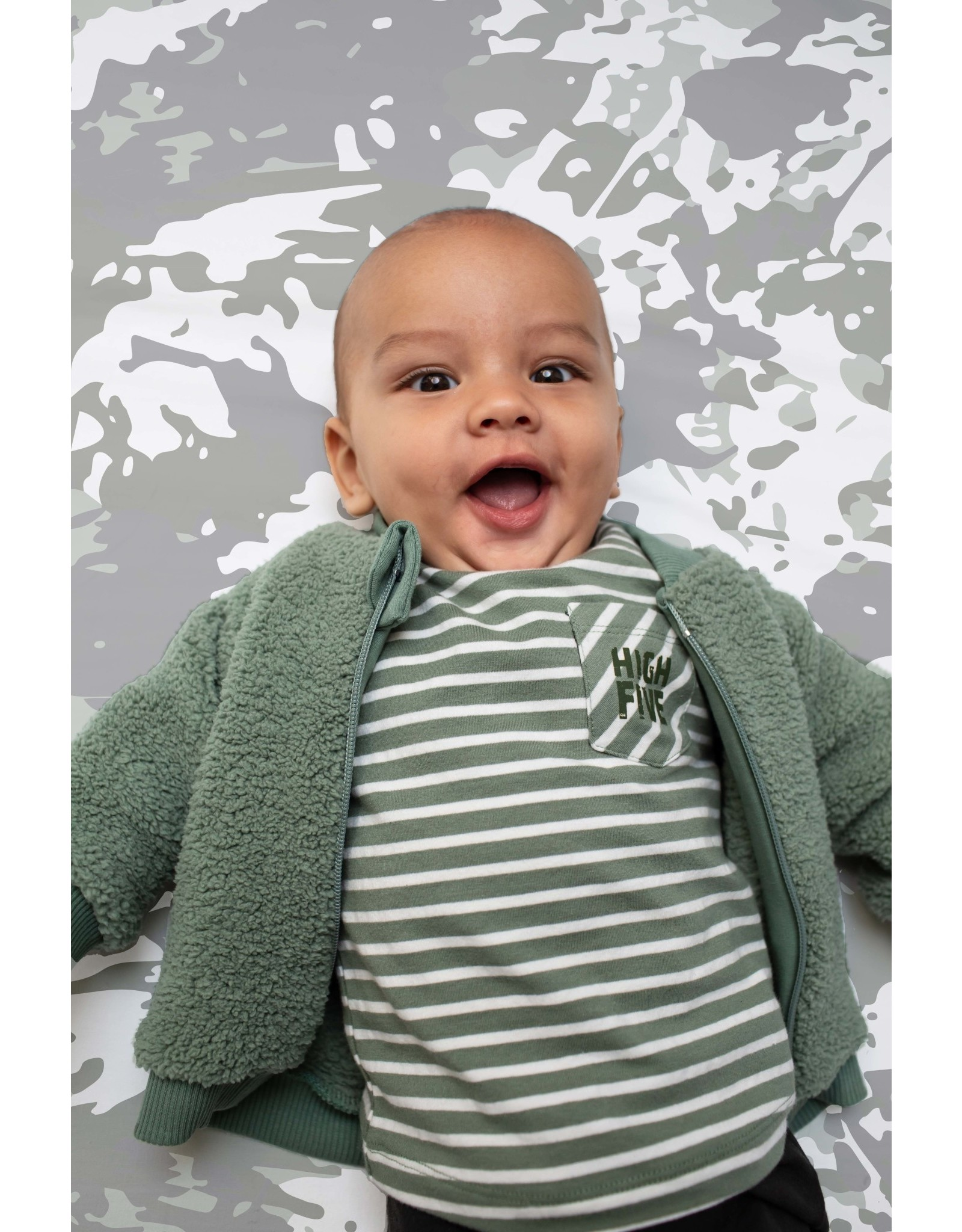 Quapi Quapi newborn baby jongens shirt Zahi