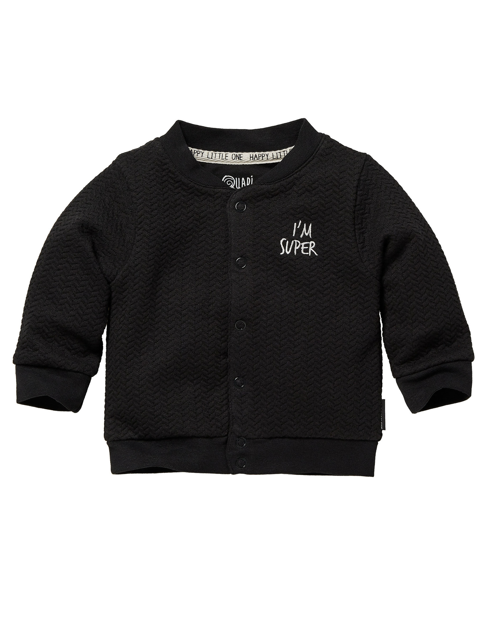 Quapi Quapi newborn baby jongens vest Zavi