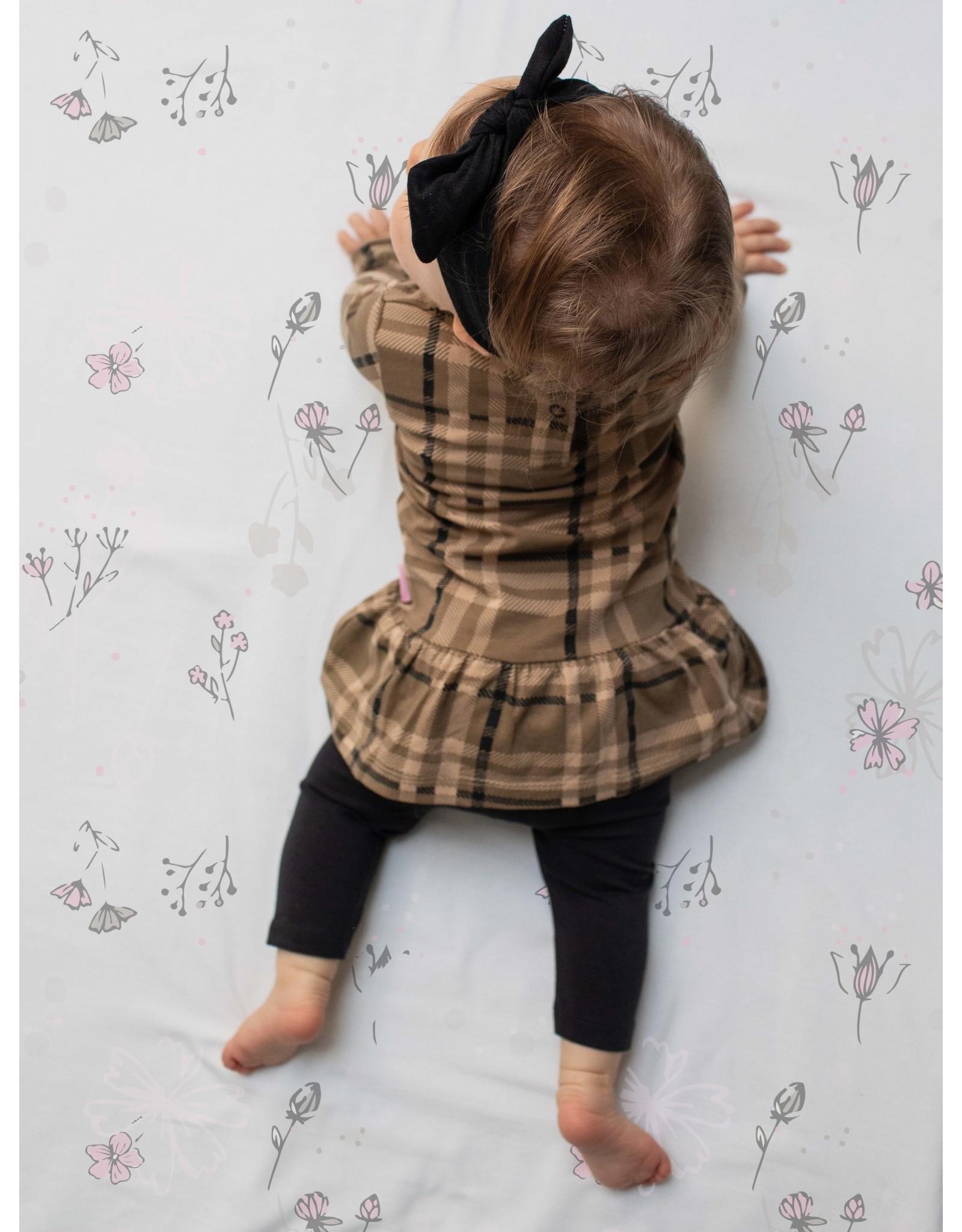 Quapi Quapi newborn baby meisjes jurk Zaya