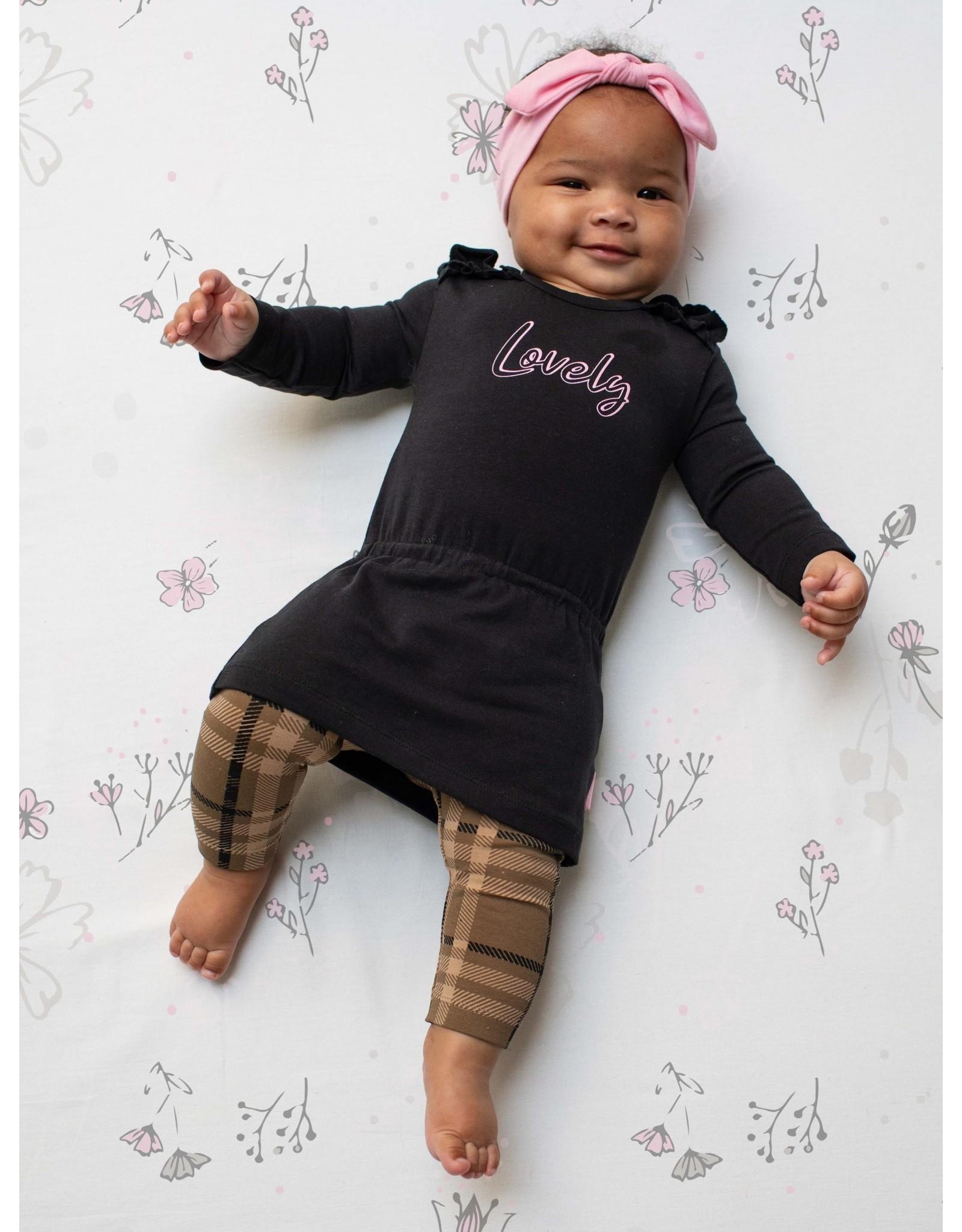 Quapi Quapi newborn baby meisjes jurk Zala