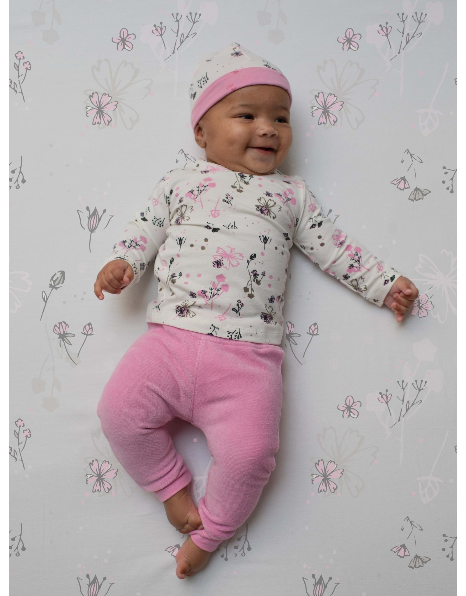 Quapi Quapi newborn baby meisjes broek Zohra