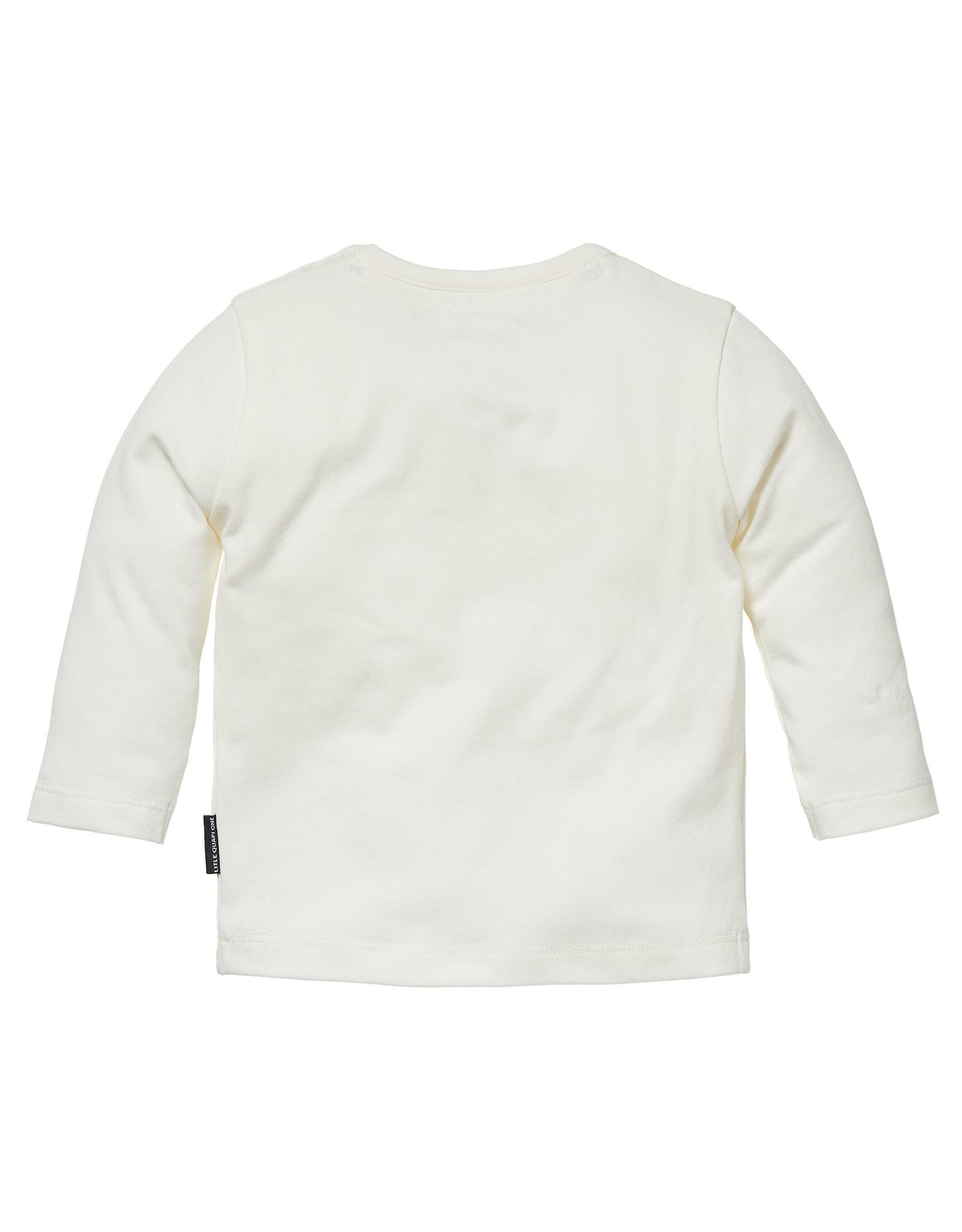Quapi Quapi newborn baby neutraal shirt Zee