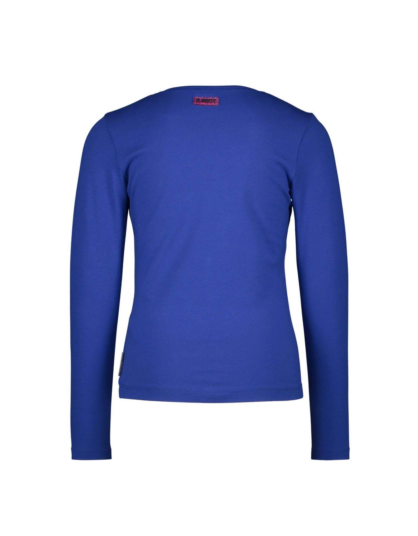 B.Nosy B.Nosy meisjes shirt Dazzle Cobalt Blue