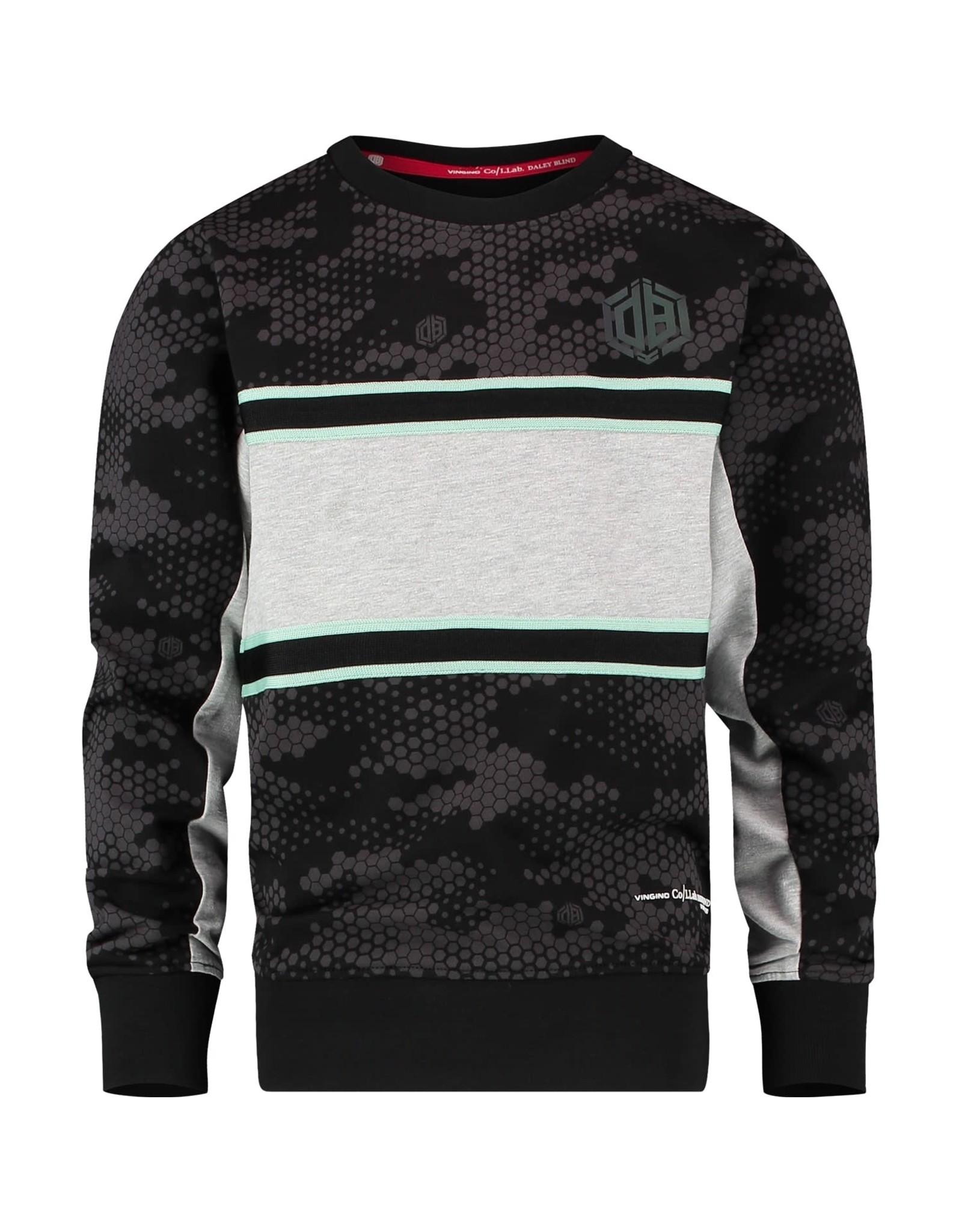 Vingino Vingino Daley Blind sweater Nenzo Deep Black