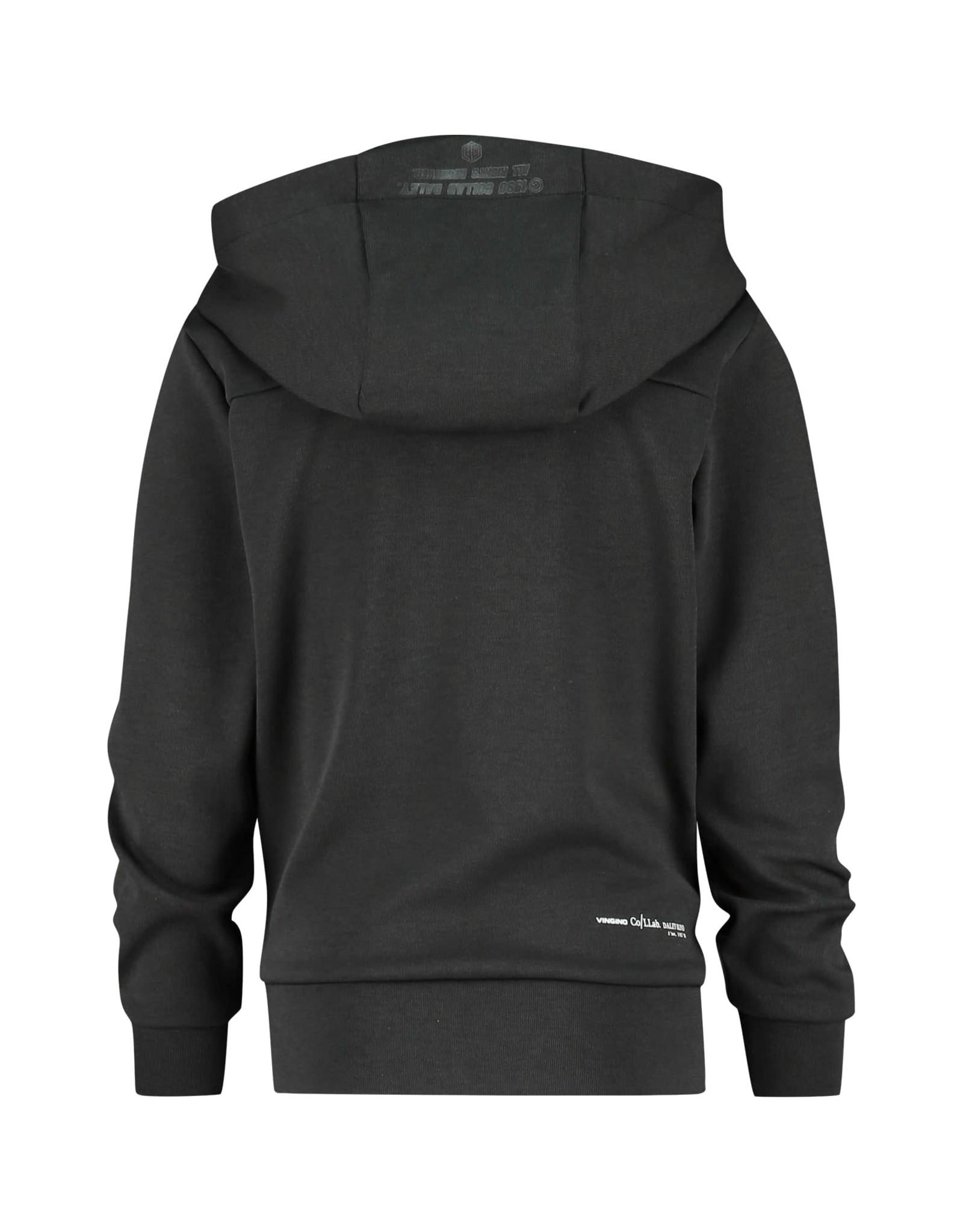 Vingino Vingino Daley Blind hoodie Nani Deep Black