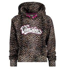 Vingino Vingino meiden hoodie Norien Multi Brown