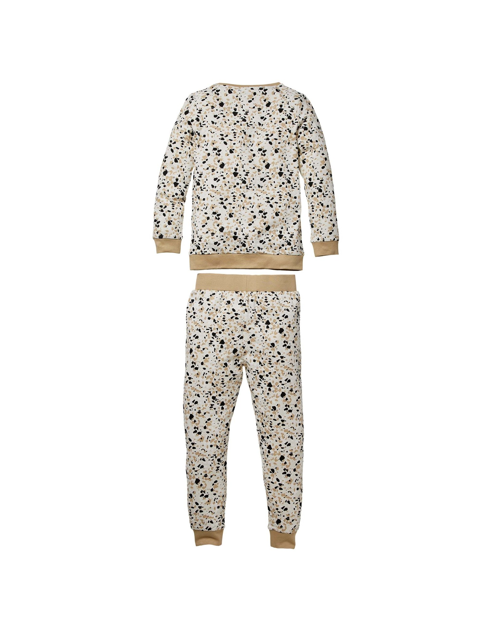 Quapi Quapi baby pyjama Puck Off White splash