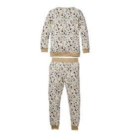 Quapi Quapi baby meisjes pyjama Off White splash