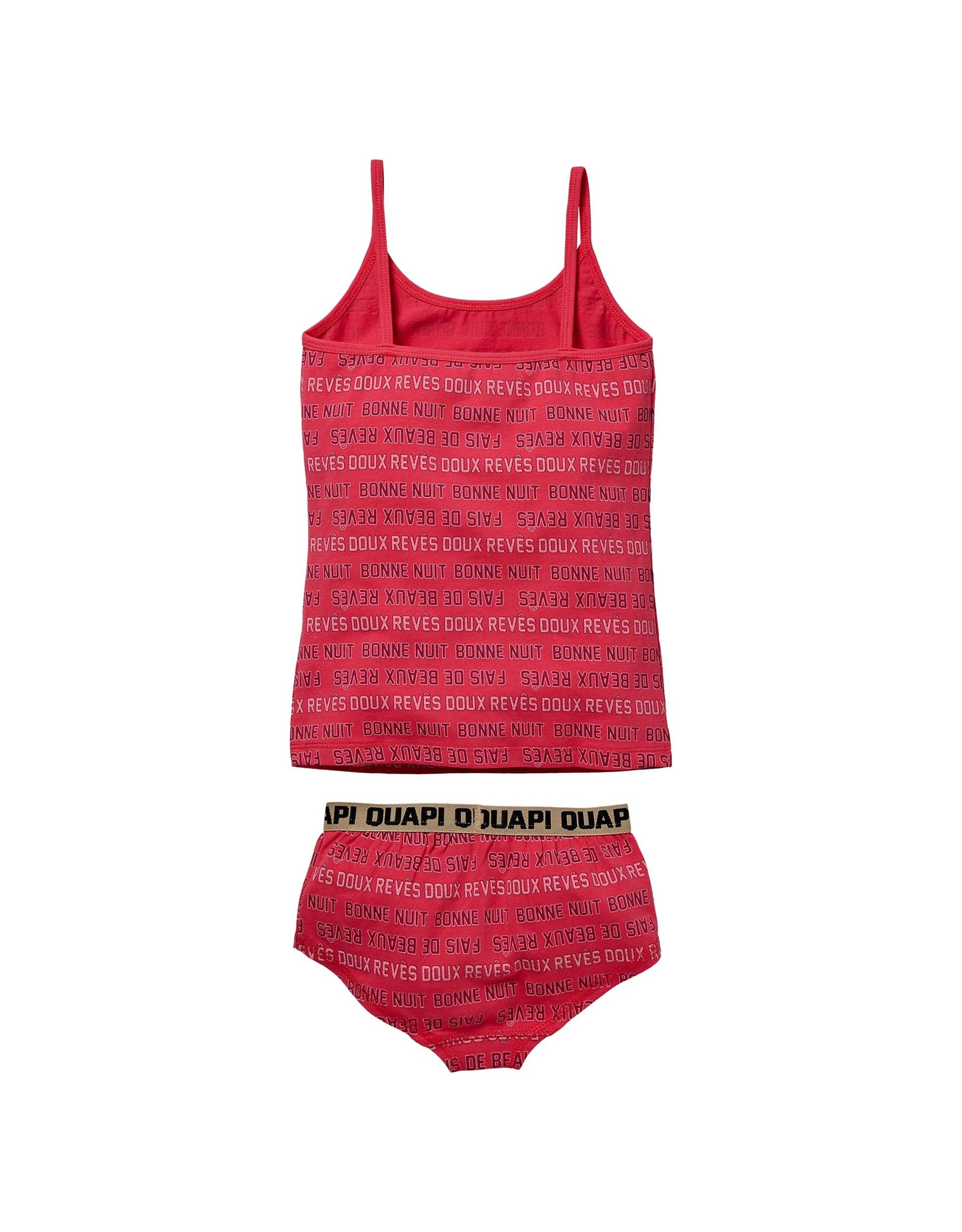 Quapi Quapi meisjes ondergoed setje Pip Hot Pink