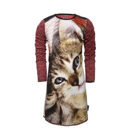 Lovestation meisjes jurk Gwen Rose cat