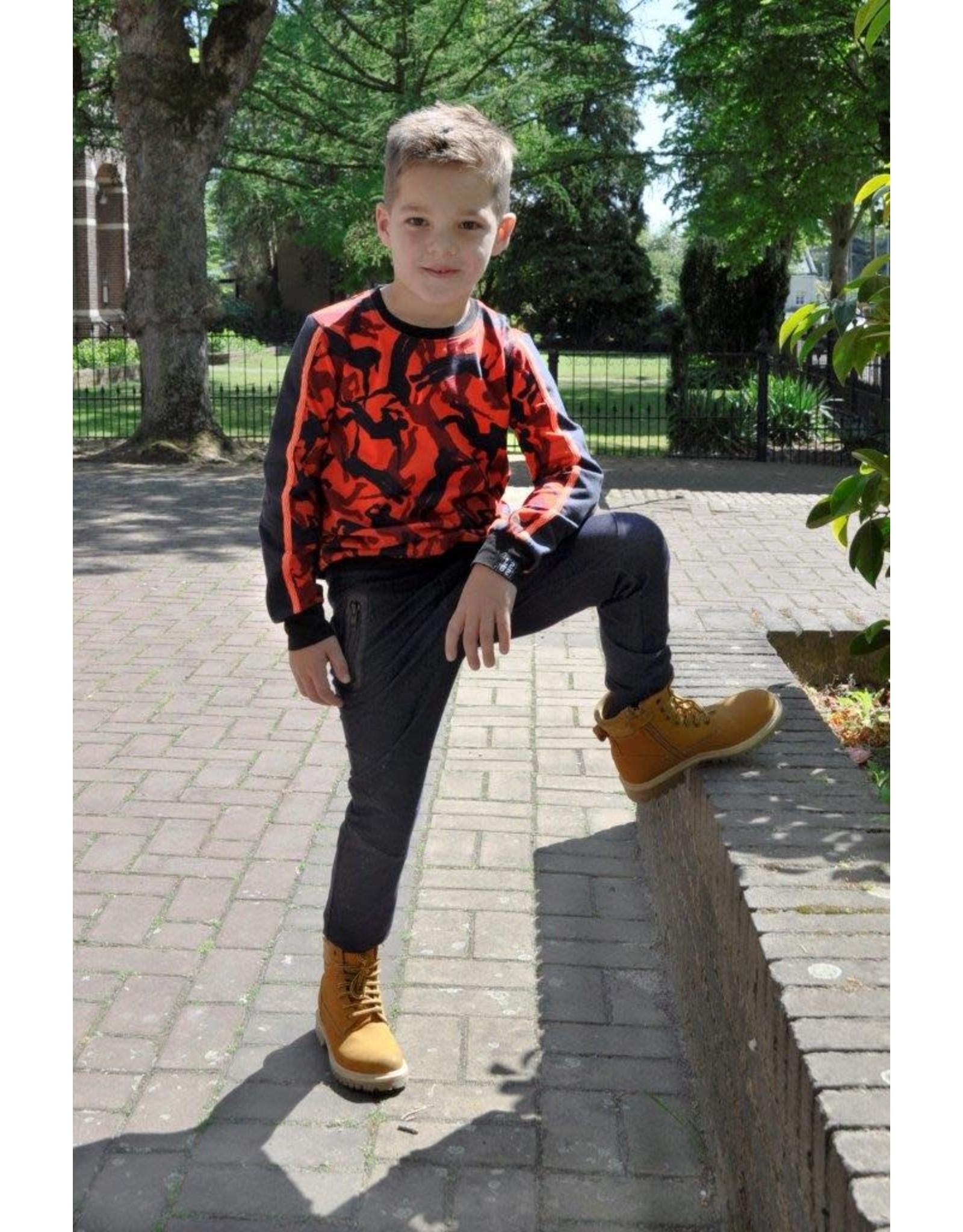 Legends jongens sweater Glen Red