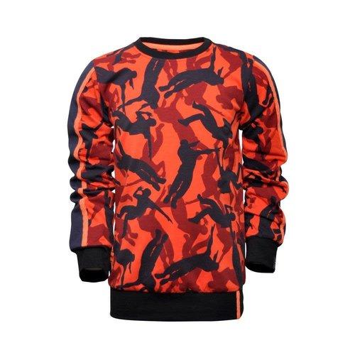Legends Legends jongens sweater Glen Red