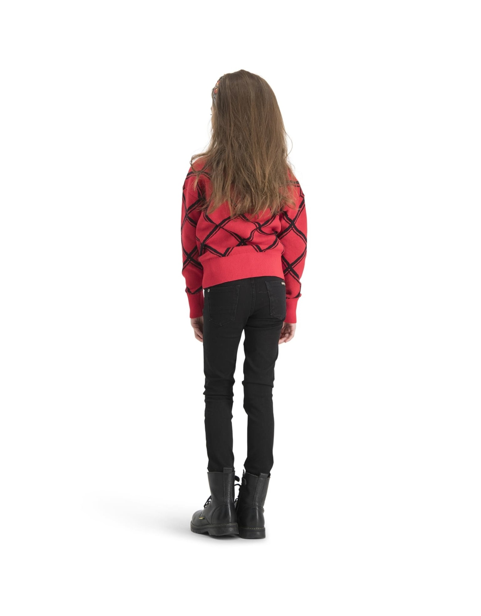 Vingino Vingino meiden gebreiden sweater Morien Classic Red