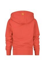 Vingino Vingino jongens hoodie organic cotton Flame Red