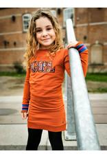 Quapi Quapi meisjes jurk Detje Cinnamon