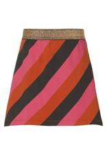 Quapi Quapi meisjes rok Diore Multi Color Stripe