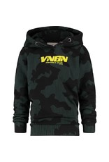 Vingino Vingino jongens hoodie Now Deep Black
