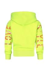 Vingino Vingino meiden hoodie Natasja Neon Lime