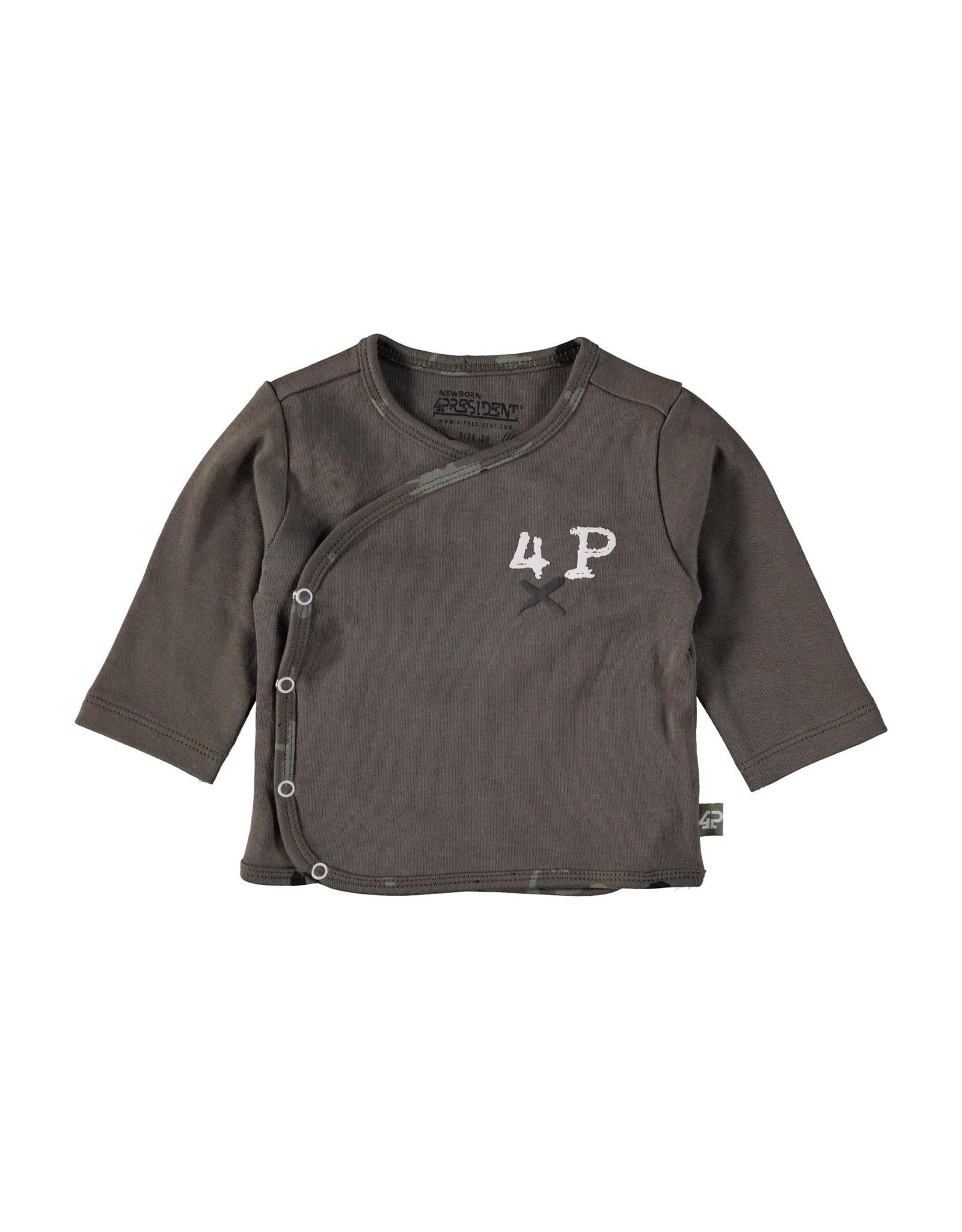 4President 4President newborn baby jongens shirt Arild