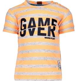 B.Nosy B.Nosy baby jongens t-shirt Game Over