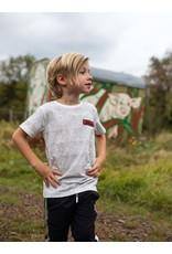 Quapi Quapi jongens t-shirt Fabian Off White Grunge