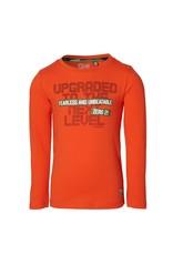 Quapi Quapi jongens shirt Fedde Orange Red