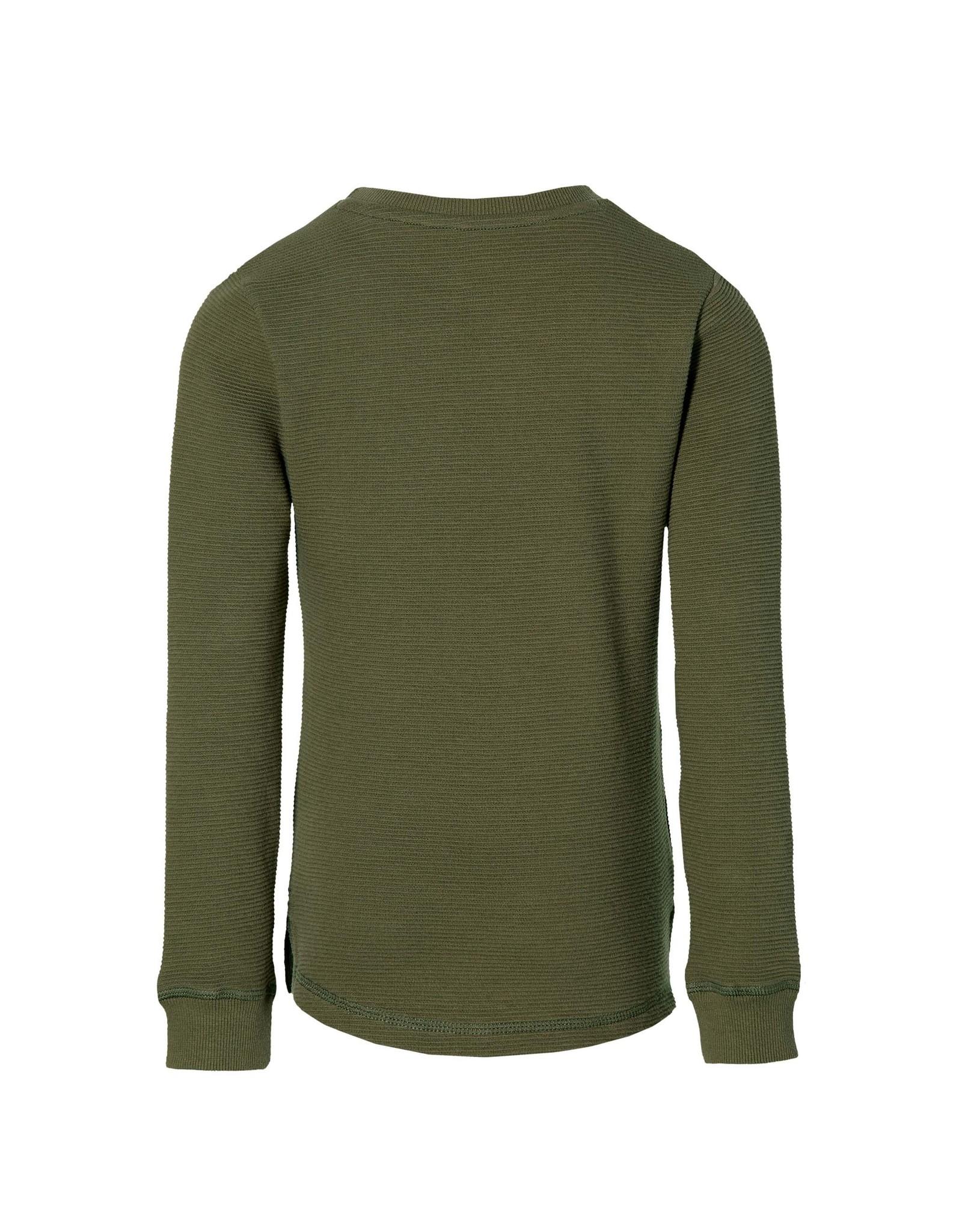 Quapi Quapi jongens sweater Ferran Olive