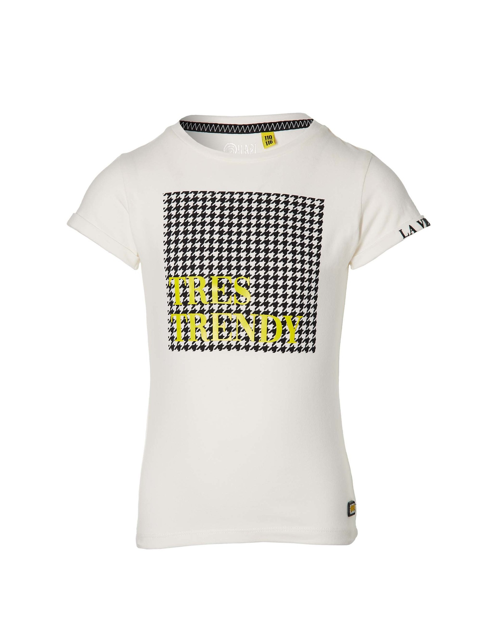 Quapi Quapi meisjes t-shirt Fay Off White