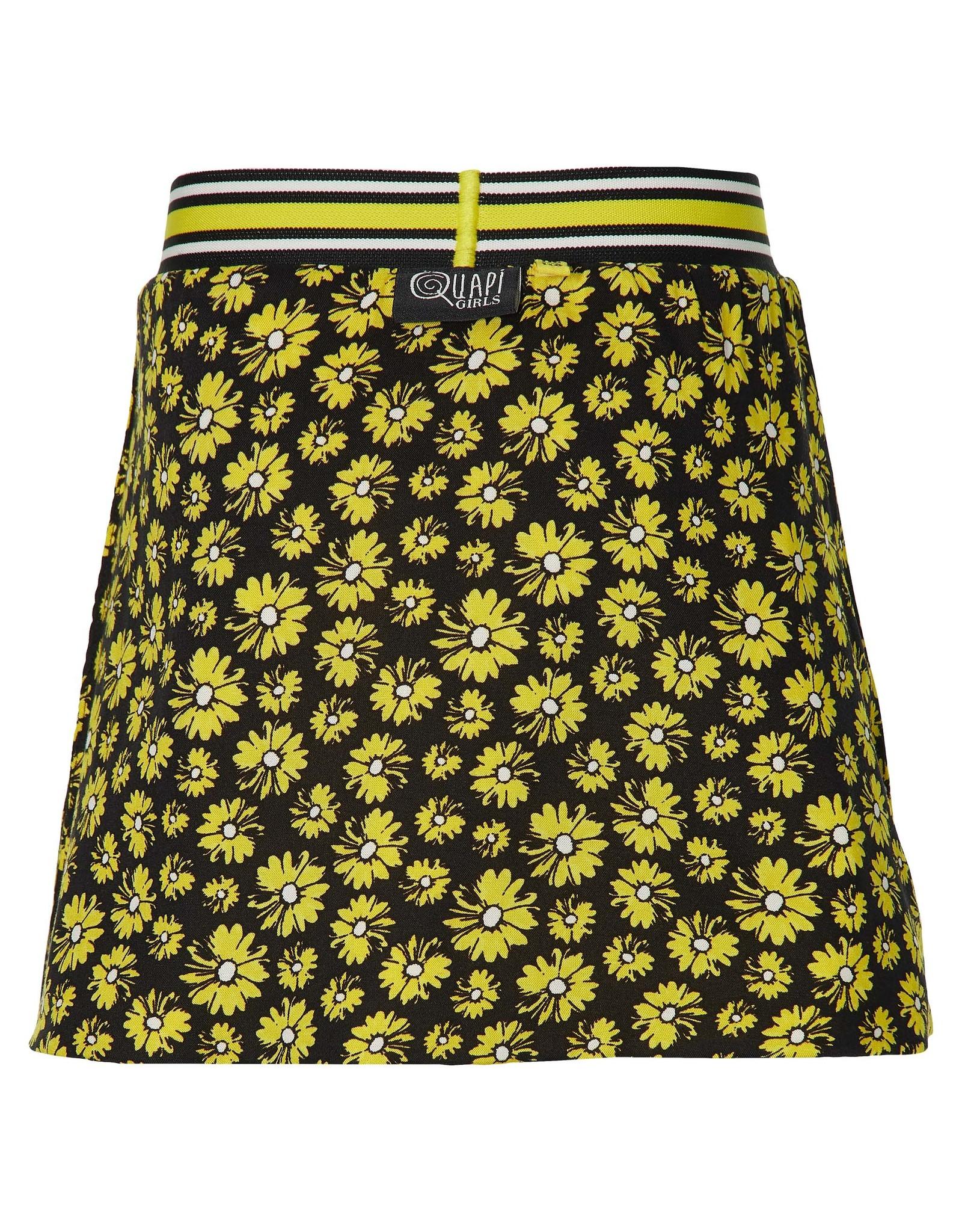 Quapi Quapi meisjes reversible rok Filijn Summer Yellow