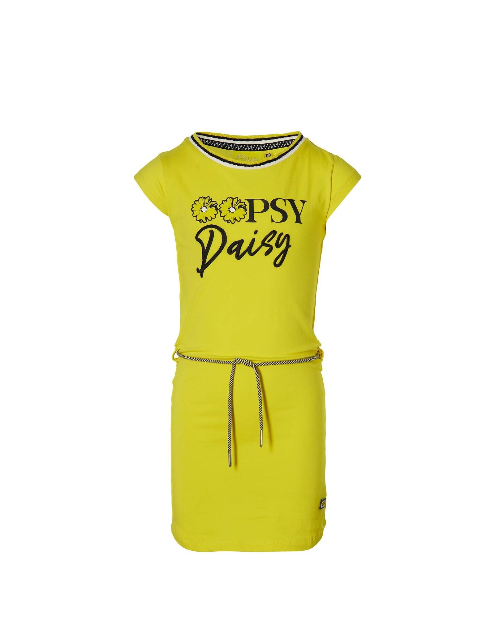 Quapi quapi meisjes jurk Fab Summer Yellow