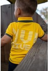 Quapi Quapi baby jongens polo t-shirt Gerald Yellow