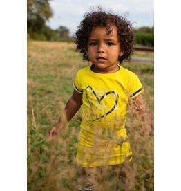 Quapi Quapi baby meisjes jurk Gabi Summer Yellow