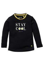 Quapi Quapi baby meisjes shirt Gerdine Black