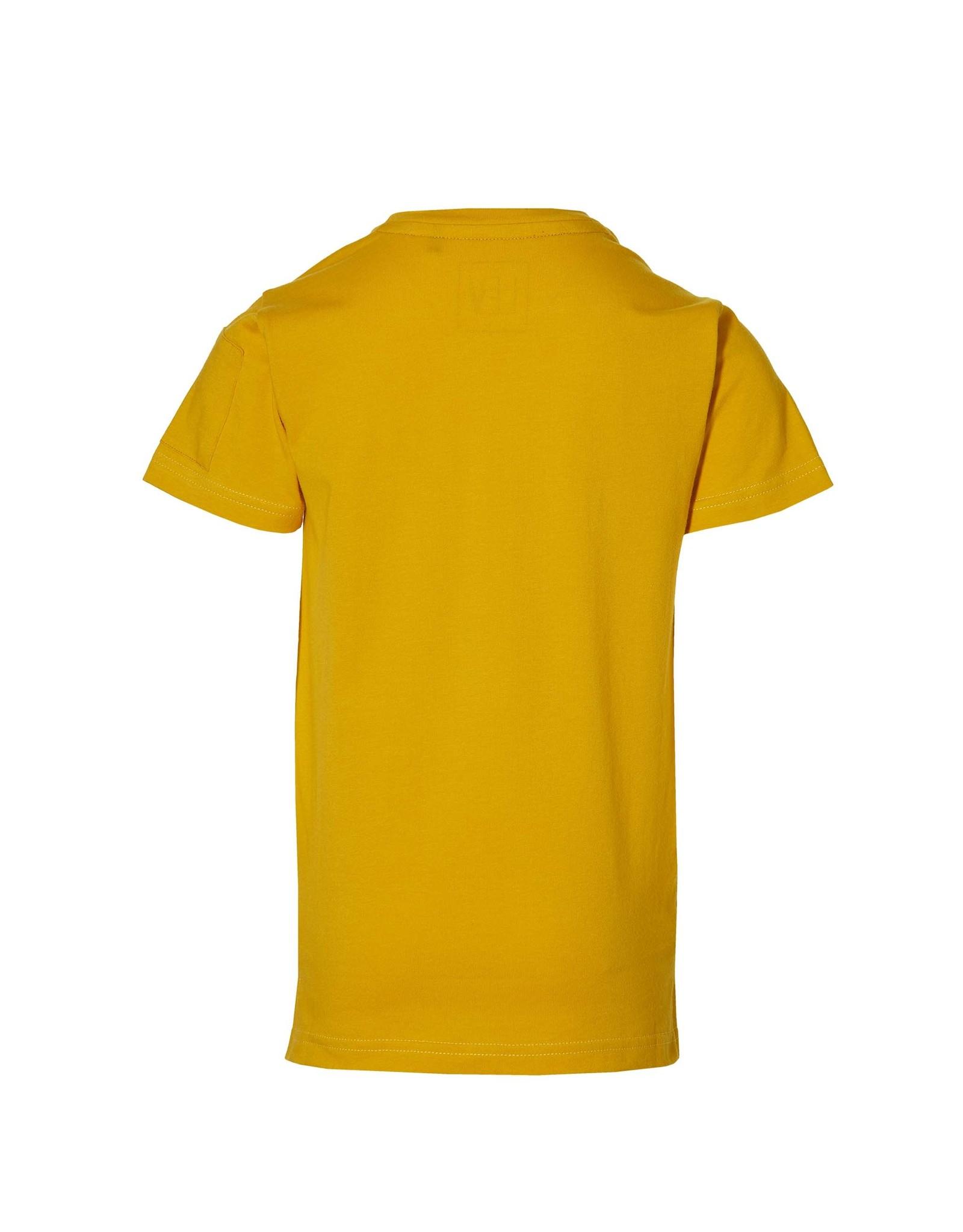 LEVV Levv jongens t-shirt Mairo Old Yellow