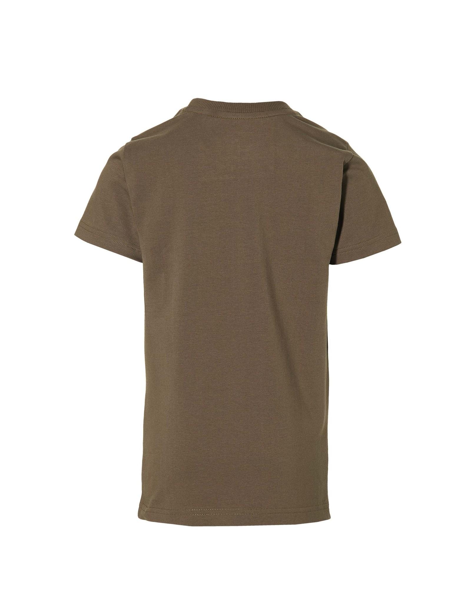 LEVV Levv jongens t-shirt Maik Olive