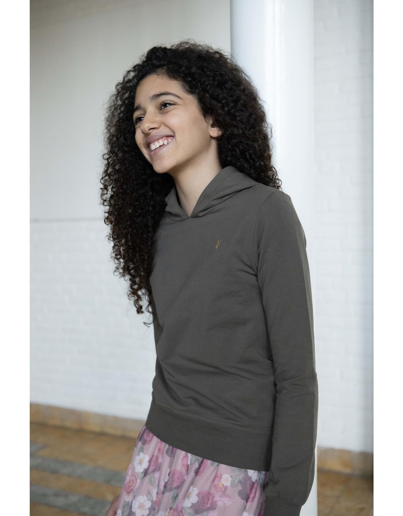LEVV Levv meiden hoodie Marlies Olive
